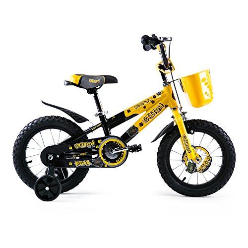 Joystar Aluminum Kids Bike 14 inch with Training Wheels for