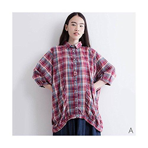 登る表示セットアップフィリル(fillil) 【ナチュラン掲載】ストライプワイドシャツ