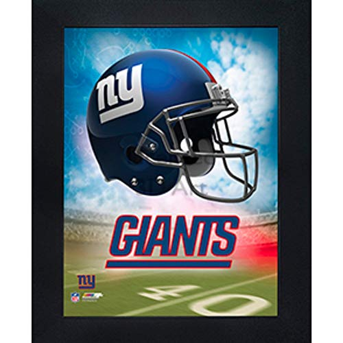 New York Giants 3D Poster Wall Art Decor Framed Print | 14.5x18.5 | Lenticular Posters & Pictures | Memorabilia Gifts for Guys & Girls Bedroom | NFL Football Team Sports Fan Pictures for Man Cave ()