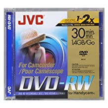 JVC VDW14DU Mini DVD-RW Camcorder Disc (Discontinued by Manufacturer) by JVC