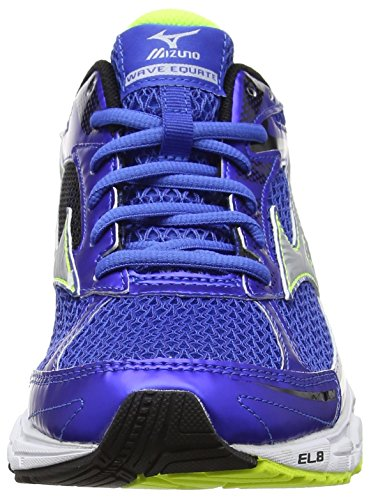 Mizuno Wave Sayonara 4 - Zapatillas de running Hombre Azul (Strong Blue/silver/safety Yellow)
