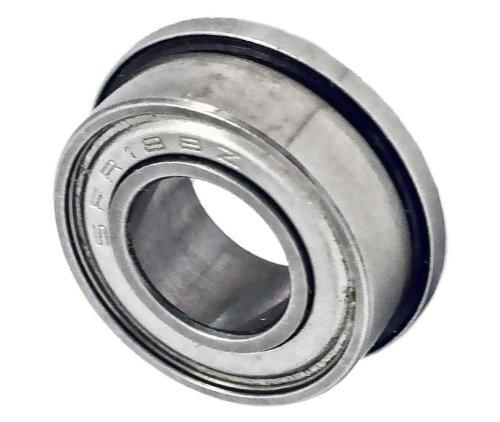 SFR188ZZ Flanged Ceramic Bearing 1/4 x 1/2 x 3/16 inch Si3N4 ABEC-7 Miniature Ball Bearings VXB Bran