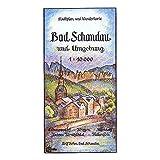 Bad Schandau und Umgebung 1:10000: Stadtplan und Wanderkarte. Rathmannsdorf - Krippen - Altendorf - Unteres Kirnitzschtal - Falkenstein.