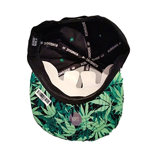 King plana leaf im de marihuana con diseño de de con Sorry unisex fresh Ice plantas Gorra visera E6qIaS