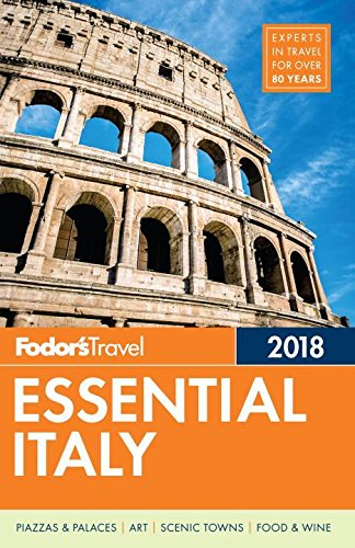 Fodor's Essential Italy 2018 (Full-color Travel Guide) cover