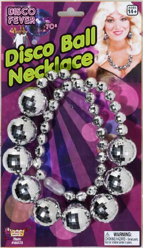 Forum Novelties Disco Necklace (70s Disco Costume Accessories)