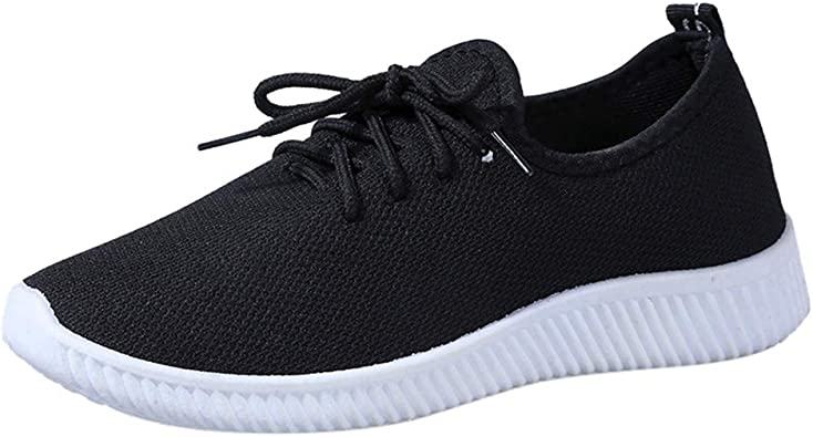 Zapatillas Running para Mujer Casual Deportivas Transpirables con ...