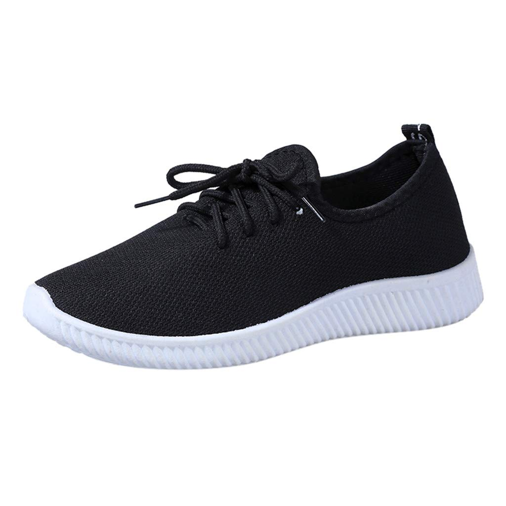 Breathable Loafers Women Fashion Solid Round Toe Sport Shoes Soft Leisure Flat Sneakers Womens Running Shoes