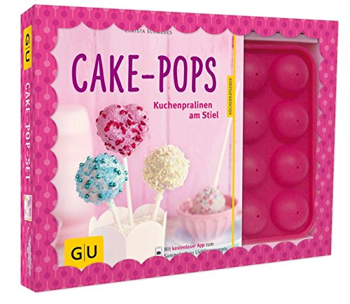 Cake-Pop-Set: Plus Cake-Pop-Backform (für 16 Cake-Pops) (GU Buch plus)|GU Buch plus