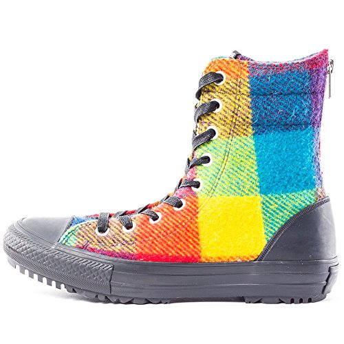 UK All Converse Multicolor Womens Star 4 Trainers Wool Woolrich 8wOvx6