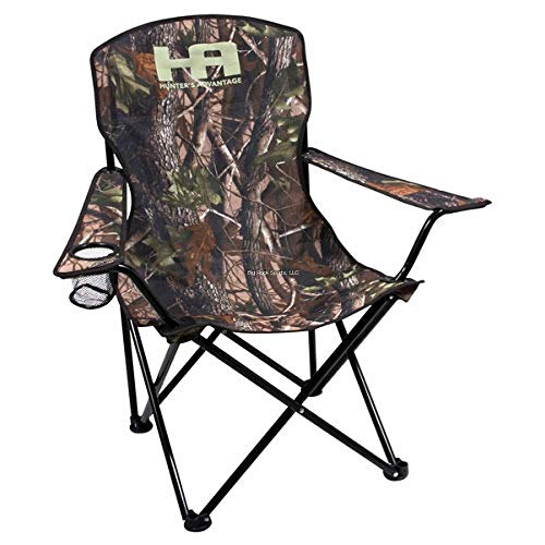 Calcutta Hunters Folding Chair with Carry Bag, Camo, ()