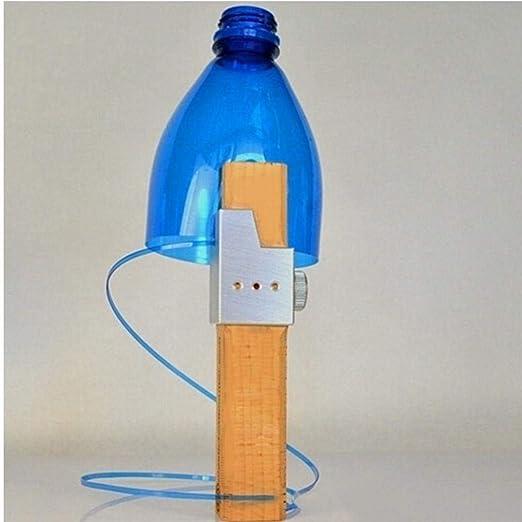 Zonster Botella de plástico de Corte al Aire Libre de la Cuerda ...