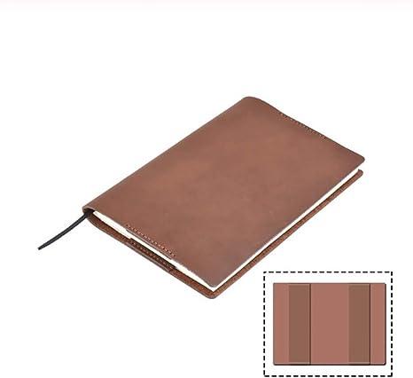 JISHUREN Cuaderno Diario Cubierta Libro Proteger Diario Cubierta Bosquejo  Plan planificador Diario de Viaje: Amazon.es: Deportes y aire libre