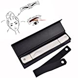 Pinkiou Eyebrow Tattoo Stencil Eyebrow Shaping Template Eyebrow Shaper Eyebrow Design Belt Eyeliner Stencil