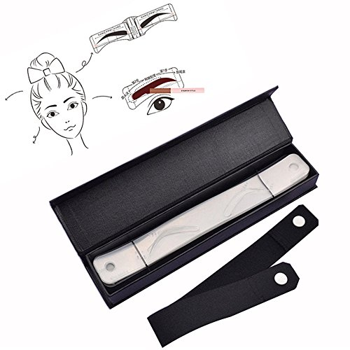 5 Pcs Eyebrow Template Stencil Shaping Tool Grooming DIY Beauty - 4