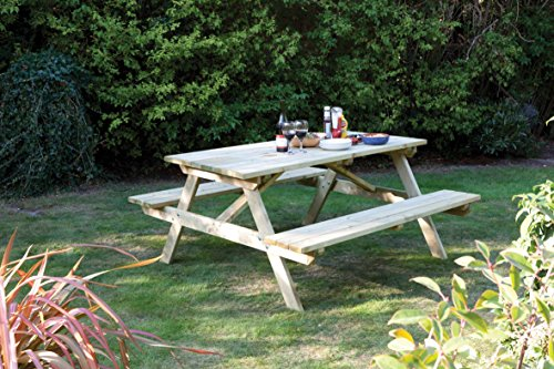 Rowlinson A110 5-Foot Picnic Table by Bosmere