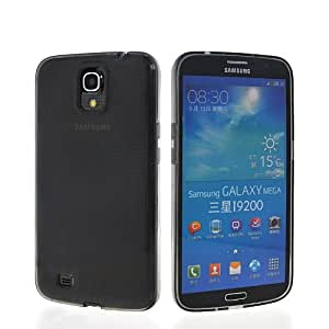 MOONCASE Flexible Soft Gel TPU Silicone Skin Smooth Style Devise Back Case Cover For Samsung Galaxy Mega 6.3 I9200 Grey