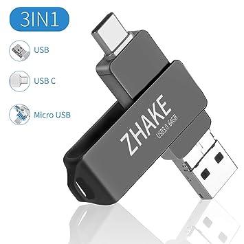 Gris Tabletas Almacenamiento de Datos Memoria USB 64 GB Mini Pendrive 64 GB Impermeable USB Flash Drive 64GB para Computadoras