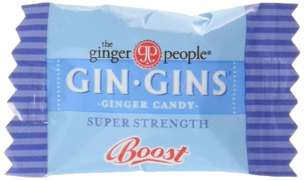 Gin Gins Super Strength Caramel Ginger Candy, 2lb Bag
