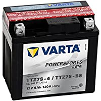 Batería de moto Varta Powersports AGM 50702 - TTZ7S-BS
