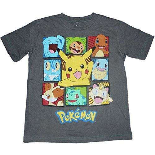 Pokemon Boxes Boys T-shirt 4-14 (XL (18))