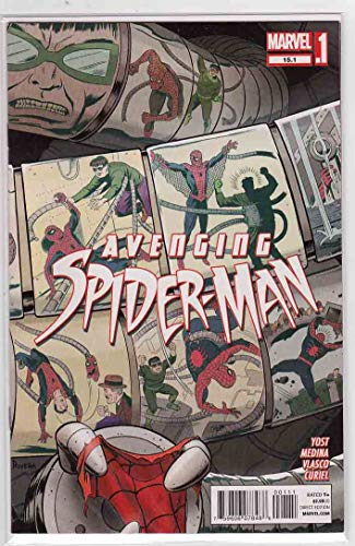 Avenging Spider-Man #15.1 (2013) - Paco Medina Cover