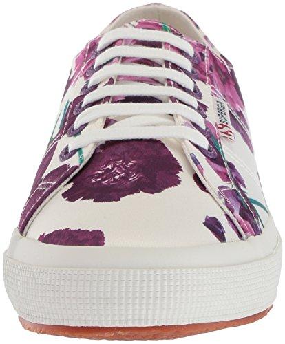 Superga Purple Womens 2750 Multi Superga Sneaker Womens Floral 4UO6nxvg