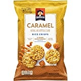 Quaker Rice Crisps, Caramel Corn, 3.52 oz Bag (Packaging May Vary)