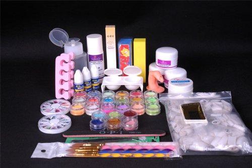Amazon 350buy Pro Full Primer 24 Acrylic Powder Uv Liquid Nail