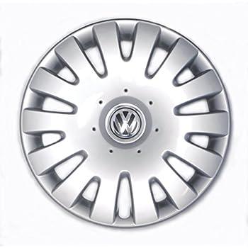 Genuine VW Hubcap Jetta 2005-2010 14-spoke Cover fits 16-inch Wheel