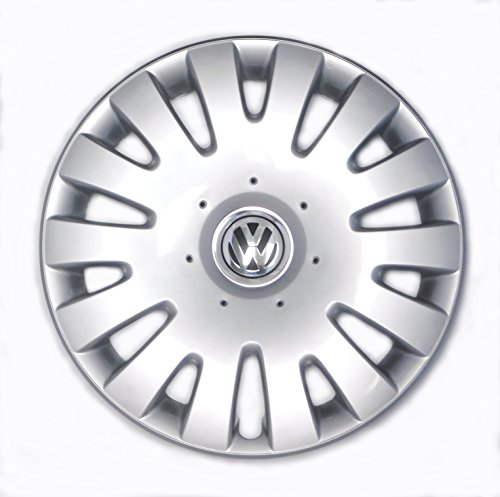 Genuine VW Hubcap Jetta 2005-2010 14-spoke Cover fits 16-inch Wheel (Volkswagen Hubcaps Jetta 2010)