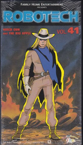 (Robotech 41: Hired Gun & Big Apple [VHS])