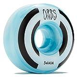 WELCOME Orbs Apparitions Skateboard Wheels - Blue/White - 54mm 100A