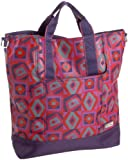 Hadaki French Market Tote,Tic Tac Toe Berry,one size, Bags Central