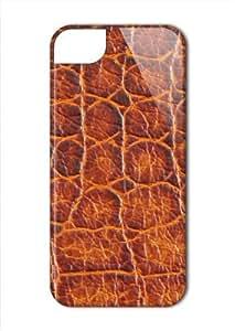 Case Fun Apple iPhone 5 / 5S Case - Vogue Version - 3D Full Wrap - Crocodile Skin