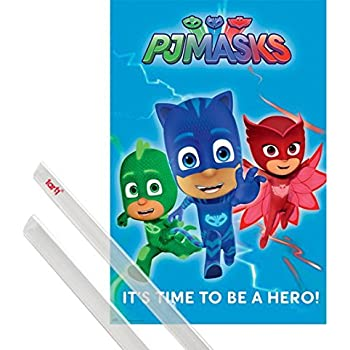 1art1® Poster + Hanger: Pj Masks Poster (36x24 inches) Its Time To