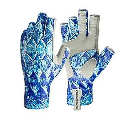96CKTP-SM/MD Fincognito Tarpon Sun Gloves-Sm/Md from Cognito Brands, Inc.