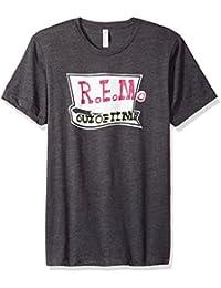 Men's R.e.m. Flower Logo Soft T-Shirt