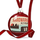Christmas Decoration USA Rivers Hardware River - Virginia Ornament