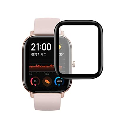 Amazon.com: Shan-S 2pcs Screen Protector for AMAZFIT GTS ...