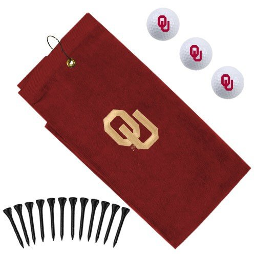 Oklahoma Sooners Embroidered Towel Gift Set