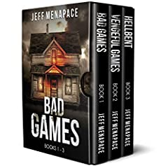 Over 1,300 combined Five-Star reviews. Optioned for feature films. Now in one ultimate box set. The Bad Games Series: Books 1-3 includes: BAD GAMES - The terrifying bestseller that started it all. The Lambert Family is heading to Crescent Lak...