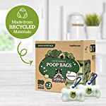 Pogi's Poop Bags – 50 Unscented Rolls (750 Dog Poo Bags) +2 Dispensers – Leak-Proof, Biodegradable Poo Bags for Dogs