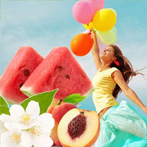 Clean Breeze Perfume Scent - .33oz/10ml Rollerball - Pure Fragrance - Smells Like Fresh Clean Breeze - Vegan + Cruelty-Free - Notes of Peach, Watermelon, Neroli