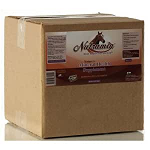 Nutramin Ion Charged Mineral Horse Supplement 20 lb Box