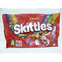 SKITTLES CHEWY FRUIT FLAVOUR CANDIES IN CRISP SUGAR