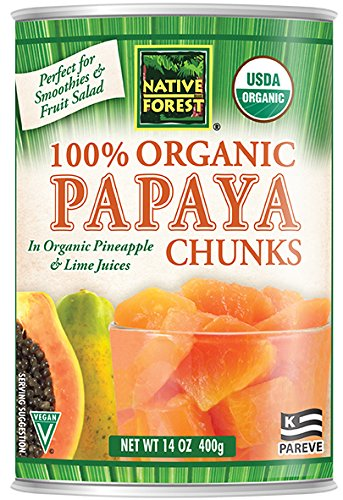 Native Forest Organic Papaya Chunks, 14-Ounce Cans (Pack of 6) by Native Forest (Image #11)
