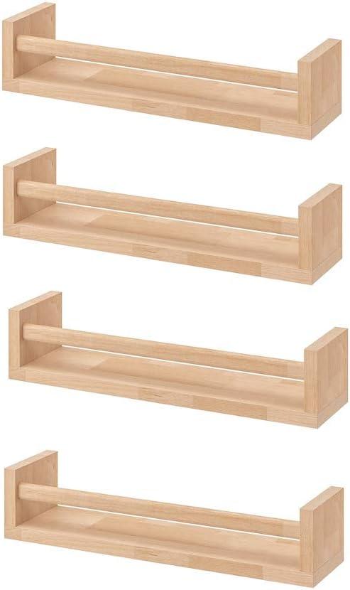 Ikea Bekvam, 4 estantes para especias de madera - cuarto del bebé ...