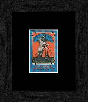Jethro Tull MC5 - Fillmore West Nov 69 Framed and Mounted Print - 20x18cm