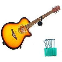 fineshelf - Soporte de Pared para Guitarra (Hierro, para la mayoría de Guitarras acústicas y eléctricas, violines…